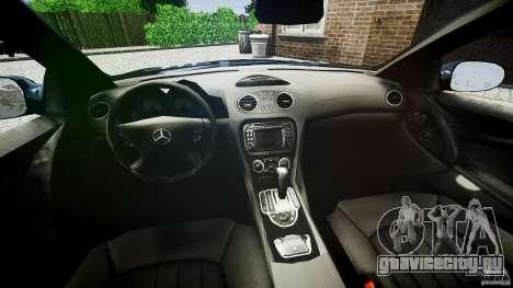 Mercedes Benz SL65 AMG для GTA 4 вид сзади