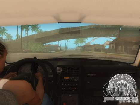 ГАЗ 3110 Волга такси для GTA San Andreas вид снизу