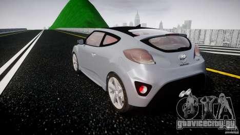 Hyundai Veloster Turbo 2012 для GTA 4 вид сбоку
