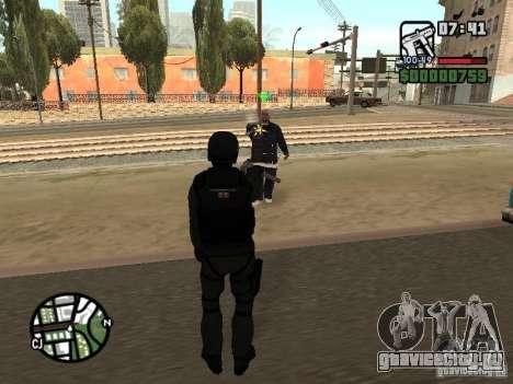 Umbrella soldier для GTA San Andreas пятый скриншот