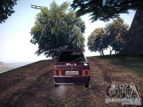 Ваз 2114 Пневмо для GTA San Andreas вид сзади слева