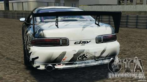 Toyota Soarer Drift для GTA 4 вид сзади слева