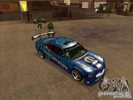 Mopar Dodge Charger для GTA San Andreas вид слева