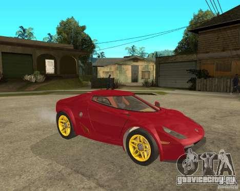 Lancia Stratos Fenomenon для GTA San Andreas вид справа