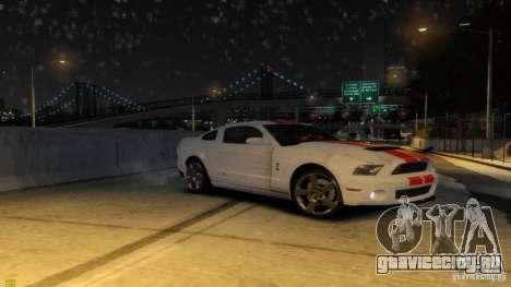 Ford Shelby Mustang GT500 2011 v2.0 для GTA 4 колёса