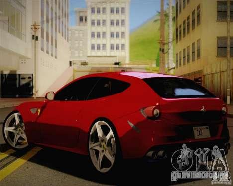 Ferrari FF Sport 2011 для GTA San Andreas вид слева