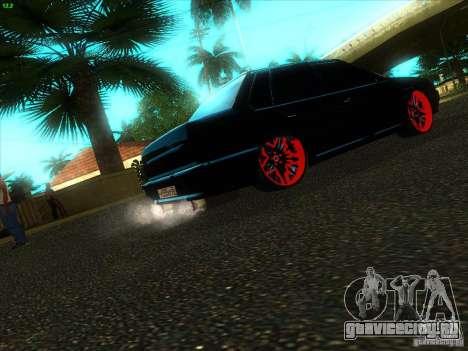 ВАЗ 2115 Devil Tuning для GTA San Andreas вид сзади слева