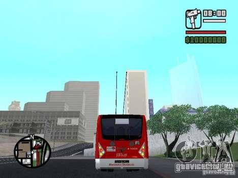 Caio Millennium TroleBus для GTA San Andreas вид сзади слева