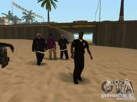 Tenpenny для GTA San Andreas третий скриншот