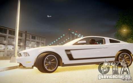 Ford Mustang 2012 Boss 302 v1.0 для GTA 4 вид слева