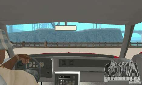 Chevrolet Monte Carlo SS 1986 для GTA San Andreas вид сзади