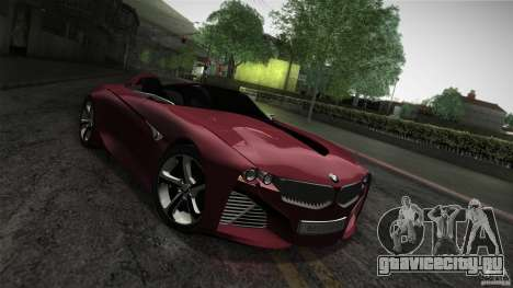 BMW Vision Connected Drive Concept для GTA San Andreas вид сбоку
