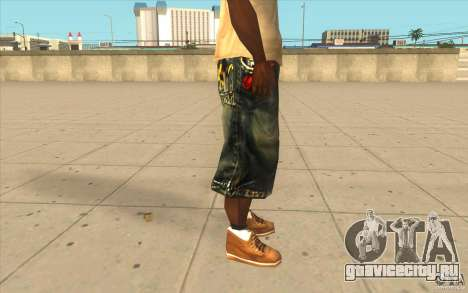 The BIG Makaveli Short Jeans для GTA San Andreas четвёртый скриншот