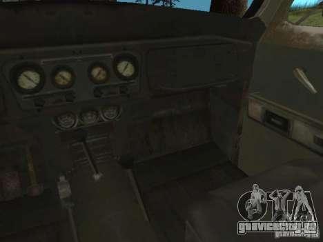 УАЗ-31519 из COD MW2 для GTA San Andreas вид изнутри