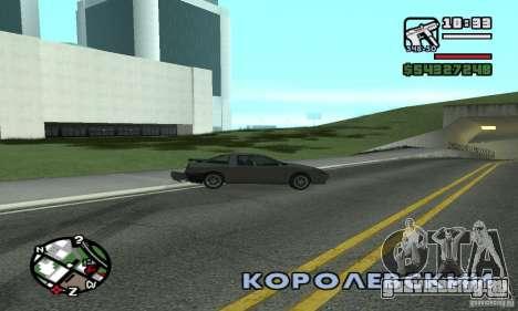 Drift - Дрифт для GTA San Andreas второй скриншот