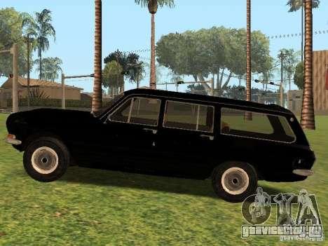 ГАЗ 24-02 Сток для GTA San Andreas вид слева