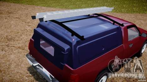 Chevrolet Colorado 2005 для GTA 4 вид сверху