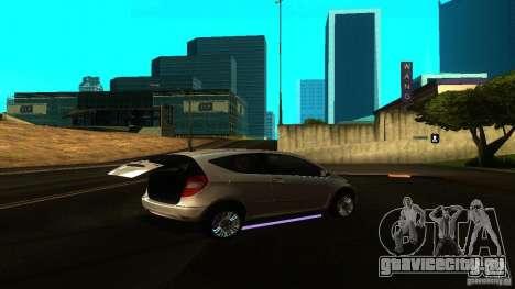 Mercedes-Benz A200 Turbo для GTA San Andreas вид справа