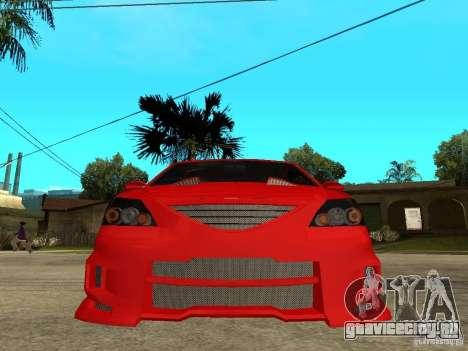 Dacia Logan Tuned v2 для GTA San Andreas вид справа