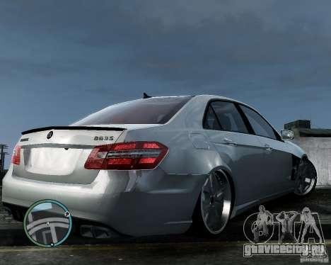 Mercedes Benz B63 S Brabus v1.0 для GTA 4 вид сзади