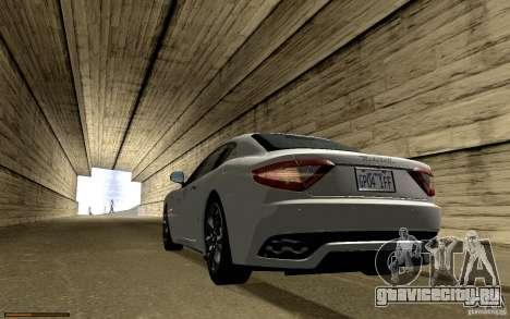 Maserati Gran Turismo 2008 для GTA San Andreas двигатель