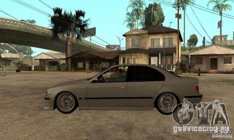 BMW E39 M5 Sedan для GTA San Andreas вид слева