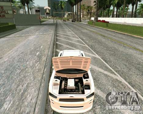 Buffalo из GTA 4 TBoGT для GTA San Andreas вид сзади