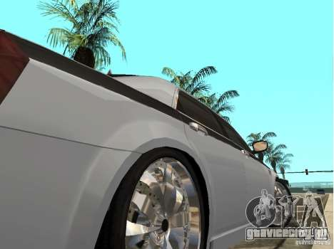 Chrysler 300 C для GTA San Andreas вид сзади слева