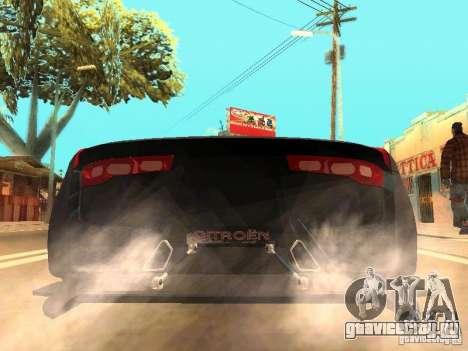 Citroen GT Gran Turismo для GTA San Andreas вид сзади слева