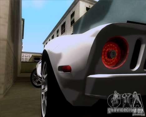 Ford GT для GTA San Andreas вид сбоку