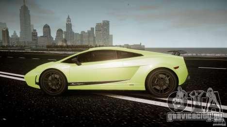 Lamborghini Gallardo LP570-4 Superleggera 2010 для GTA 4 вид слева