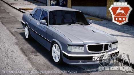 ГАЗ-3110 Turbo WRX STI v1.0 для GTA 4