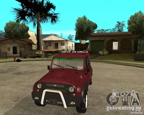 УАЗ 3159 Hunter (Хантер) для GTA San Andreas вид сзади