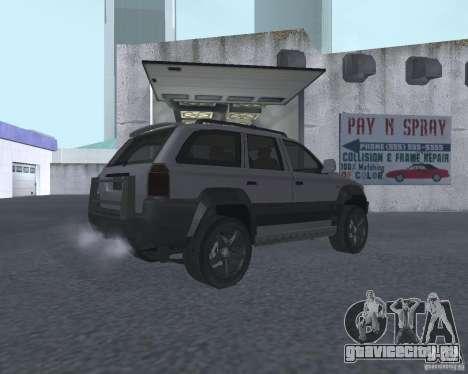 Внедорожник из NFS для GTA San Andreas вид справа
