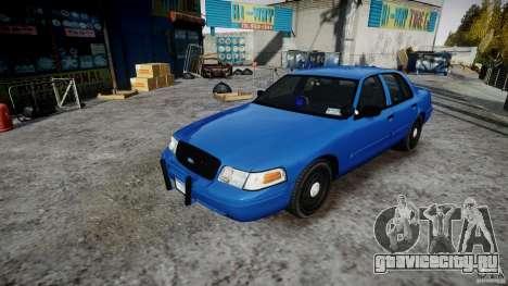 Ford Crown Victoria Detective v4.7 [ELS] для GTA 4