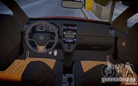Honda CR-V Light Tuning для GTA 4 вид сзади