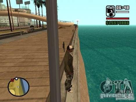 Вода по умолчанию для GTA San Andreas