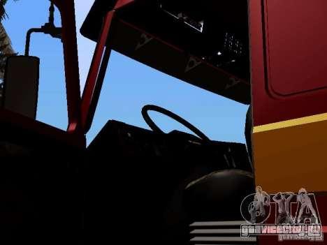 Scania 143M для GTA San Andreas вид сзади
