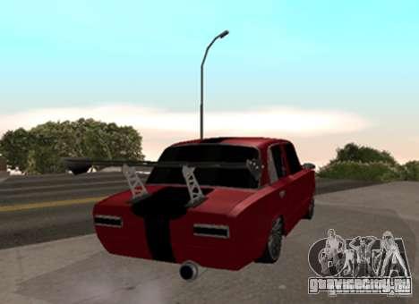 ВАЗ 2101 Drag для GTA San Andreas вид сзади слева