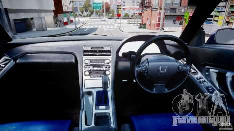 Honda NSX NA2 [Beta] для GTA 4 вид сзади