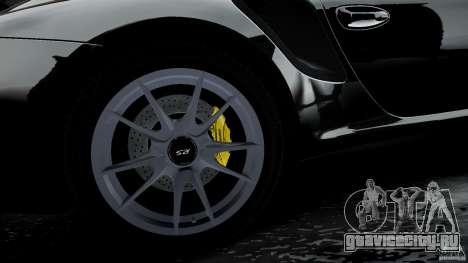 Porsche 911 GT2 RS 2012 для GTA 4 вид сверху
