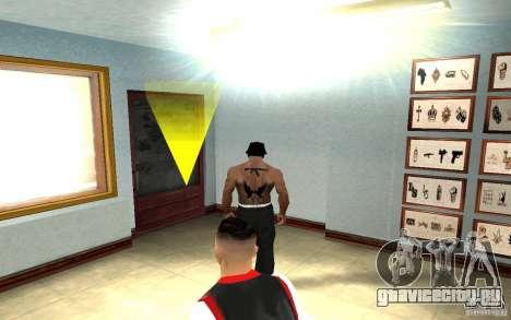 Hollywood Undead Tatoo для GTA San Andreas четвёртый скриншот