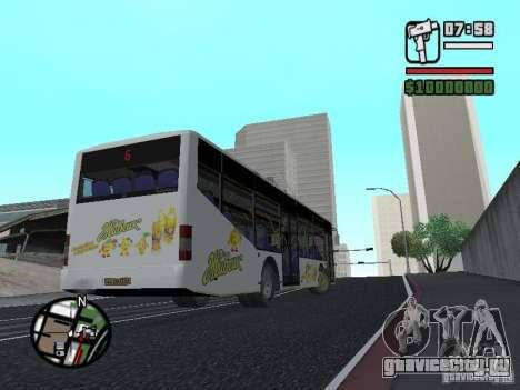 ЛАЗ ИнтерЛАЗ 12 для GTA San Andreas вид слева