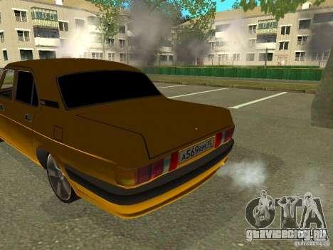 ГАЗ Волга 3102 для GTA San Andreas вид сзади слева