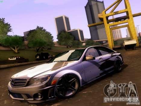 Mercedes-Benz C36 AMG для GTA San Andreas вид сзади