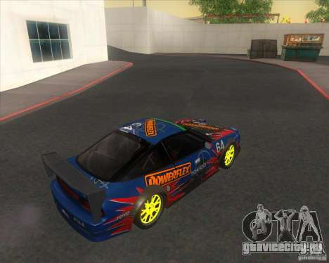Nissan 240SX for drift для GTA San Andreas вид слева