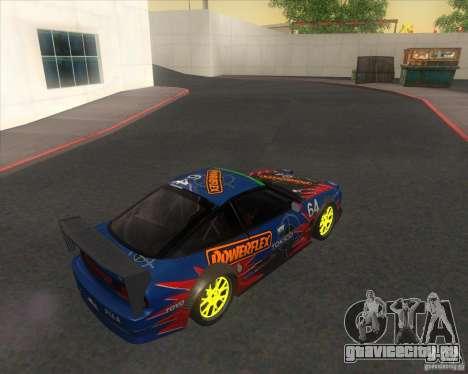 Nissan 240SX for drift для GTA San Andreas вид слева
