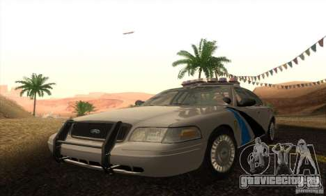 Ford Crown Victoria Colorado Police для GTA San Andreas