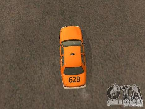 Ford Crown Victoria San Francisco Cab для GTA San Andreas вид изнутри