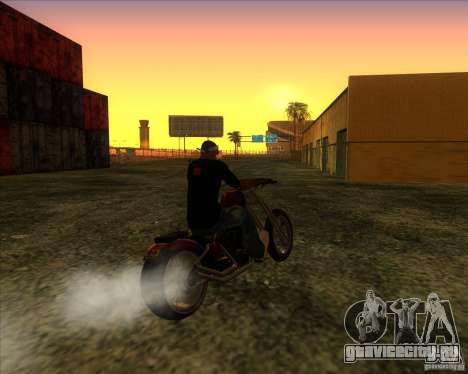 Hexer bike для GTA San Andreas вид сзади